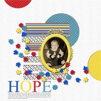 Arts and Ains Designs - Hope for Brady - Hope