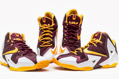 nike lebron 11 pe ctk home 1 03 First Look at Nike LeBron 11 Christ the King Home PE