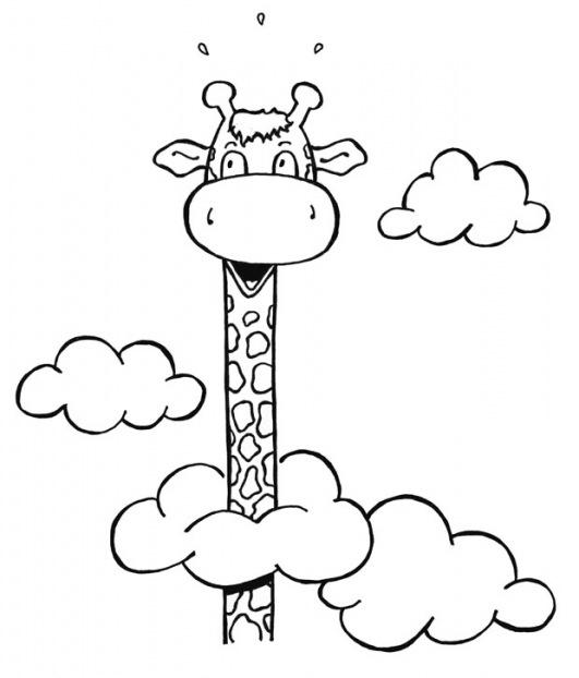 Dibujos de jirafas infantiles para imprimir - Imagui