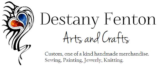 Destany Fenton Arts and Crafts
