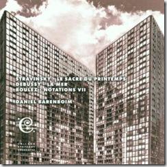 Stravinsky Consagracion Barenboim Chicago
