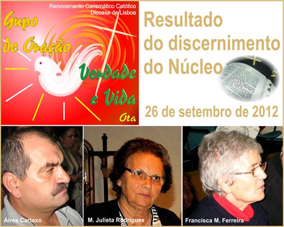 Resutado do Discern. do Ncleo - 26.09.12