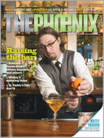 The final cover of THE PHOENIX, dated March 15, 2013. The publication, originally a newspaper, was re-launched as a glossy tabloid only six months ago.