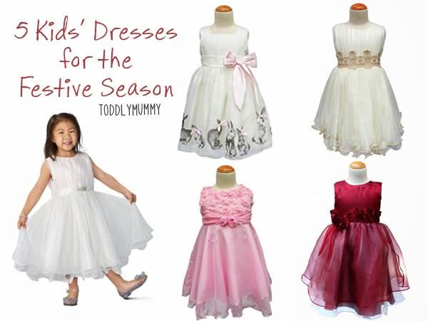 5 kids dresses