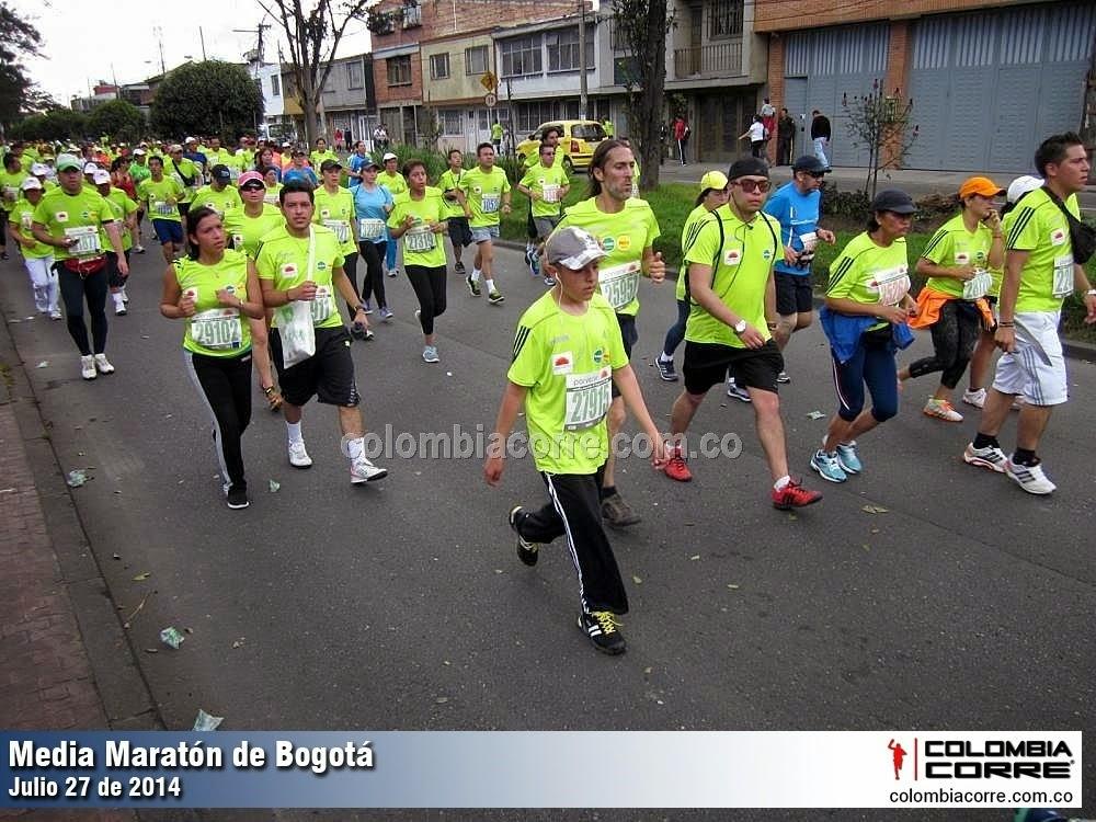 fotos media maraton de bogota 2014