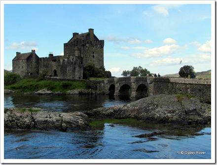 Eilean Donan castle on Loch Duich.