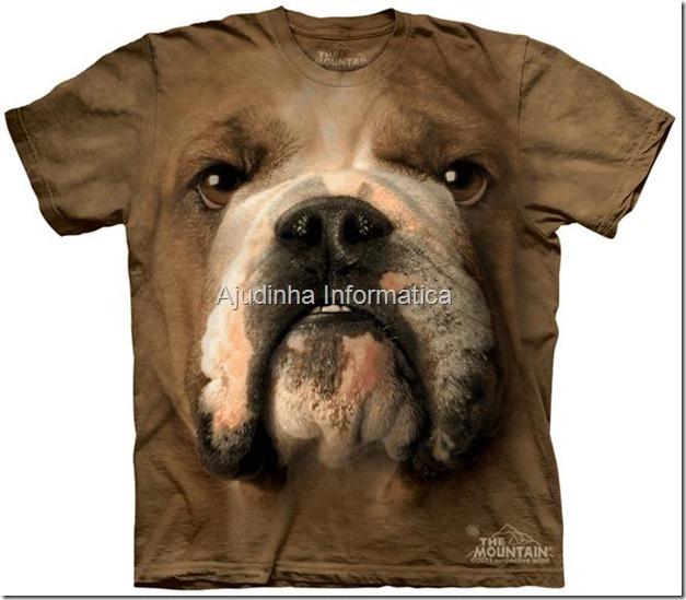 camiseta cao