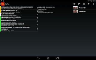 Screenshot of VicFire