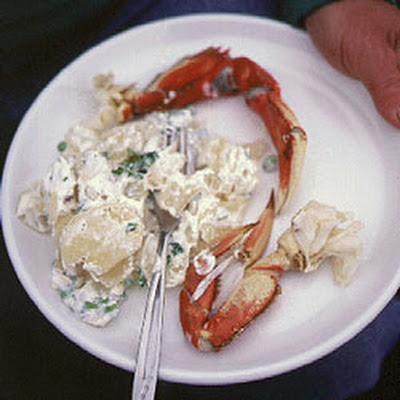 Crab–Potato Salad