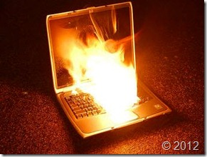 Exploding Laptop