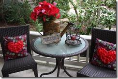 Front Porch Tablescape