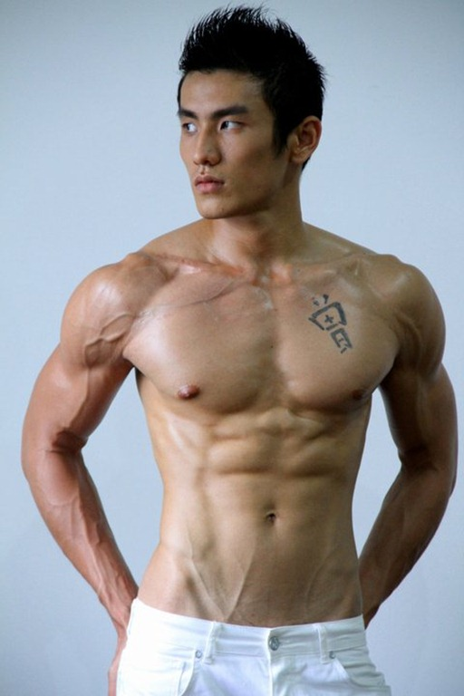 Asianmales-Little Shirtless Sexy with Unknown Male Model-24