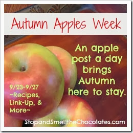 autumn apples week