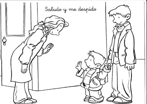Dibujo sobre la respeto - Imagui