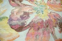 Tkanina meblowa w kwiaty. Duże wzory. 01