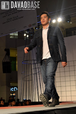All-denim look during the Mensweek Fashion Show at Abreeza