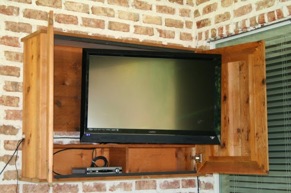 Outdoor Tv Cabinet Casual Cottage