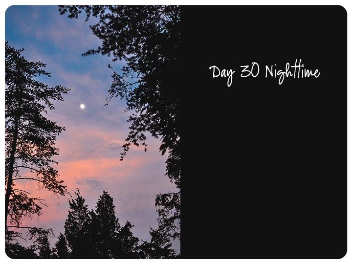30 nighttime