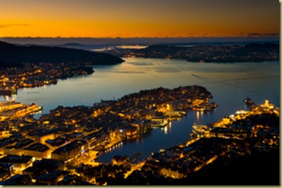 Bergen on a good night