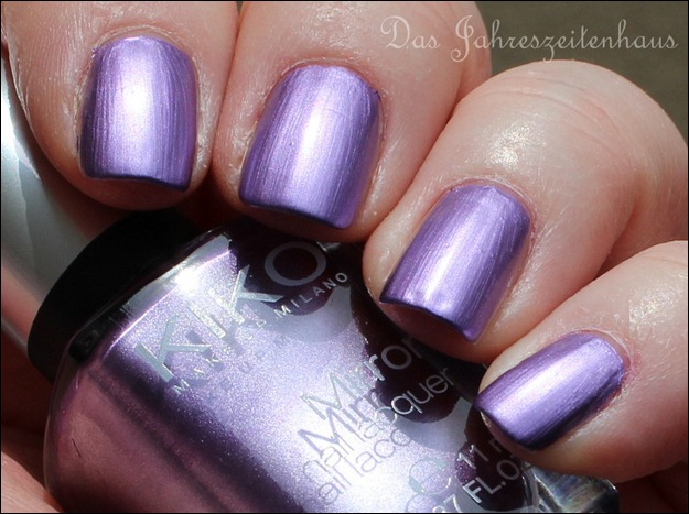 KIKO Mirror Nail Laquer 621 Violet 3