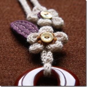 collana lana e feltro 1-4