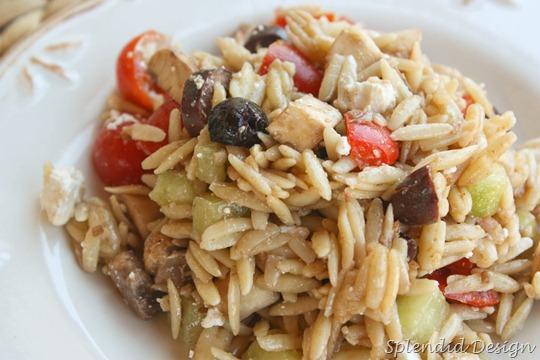 easy and yummy orzo salad