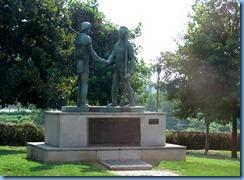 9461 Nashville, Tennessee - Discover Nashville Tour - The Founding of Nashville - James Robertson & John Donelson statue