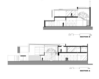 Planos casa vivienda unifamiliar arquitexs for Planos de arquitectura de casas pdf
