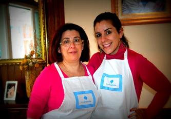 Mi mama y su cocina