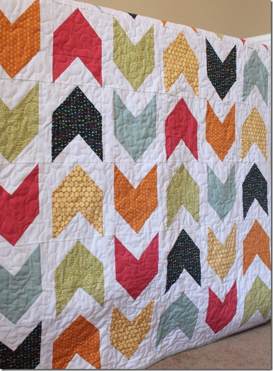 Pow Wow Boy Quilt Arrow Feathers