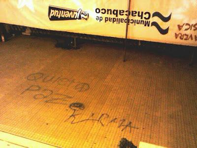 quiero paz chacabuco graffitti municipalidad