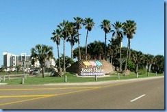5971 Texas, South Padre Island - Welcome sign