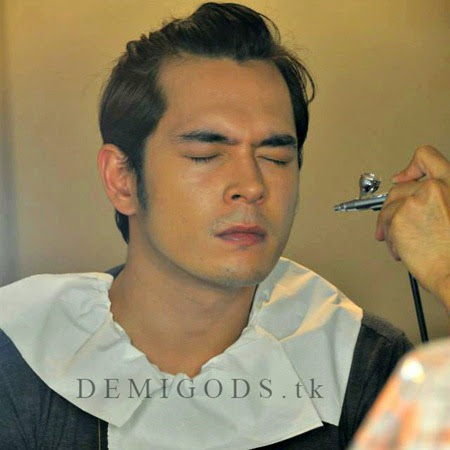 Bench The Naked Truth backstage Jake Cuenca