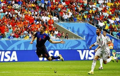 Gol de Robin Van Persie