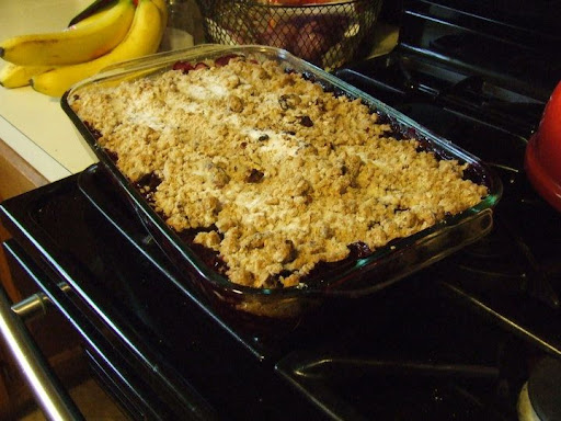 Karen's Crumble...fresh from the oven!