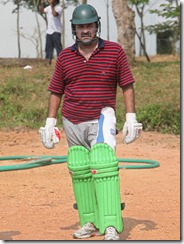 mohanlal as batsman