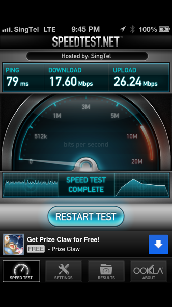 Mini Liew: Something about Speedtest.net