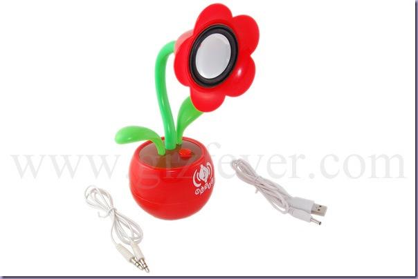 Caixinha-de-Som-Vaso-Flor