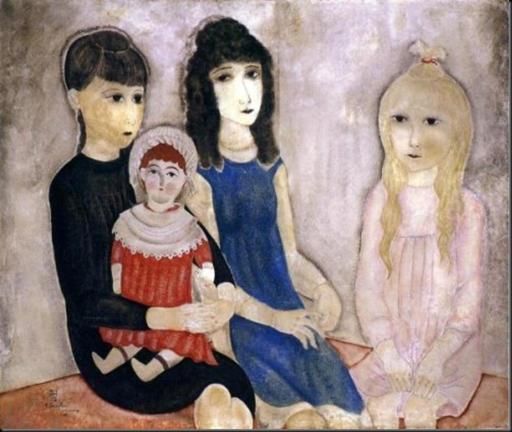 Children And Doll-