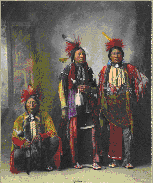 Three Kiowa Men