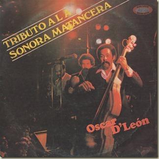 Oscar D' Leon - Tributo A La Sonora Matancera (LP Front)