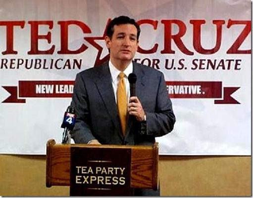 Ted Cruz - TPX Podium