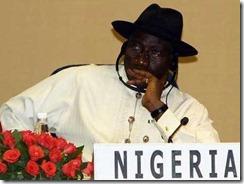 Goodluck Jonathan Nigeria President
