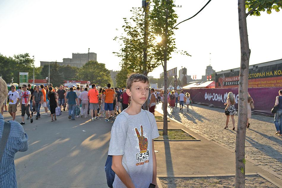 Евро 2012 по футболу. Харьков. 13 июня. Перед матчем Голландия - Германия - 118