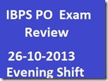 IBPS PO Exam Discussion