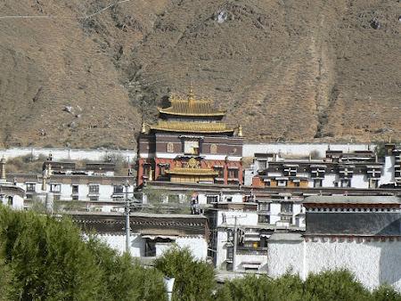 Tibet: Shgatse monastery