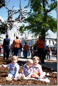 3 boys with tree