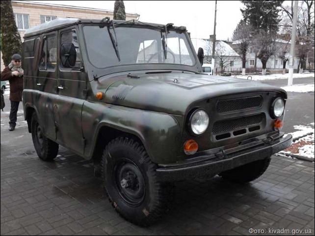 Громада села Вишнів долучилася до справи придбання і передачі автомобіля бійцям зони АТО