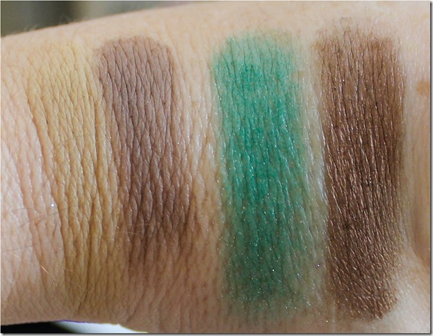 Sephora Pantone Shadows swatch 3