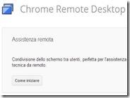 Accedere da remoto al computer con Google Chrome